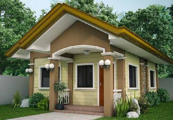 Contoh Denah Rumah Kampung  rumah idaman sederhana di desa keren desain rumah minimalis