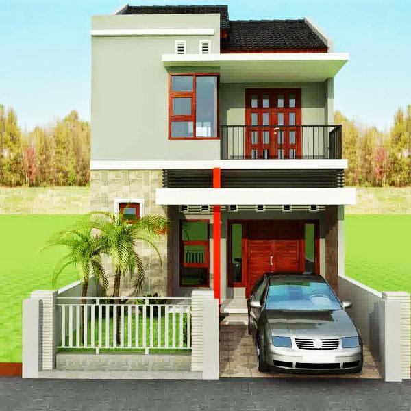 Rumah Minimalis 2 Lantai Ukuran 6x9 Sederhana Desain Rumah Minimalis