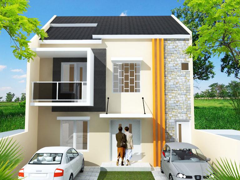 Gambar Desain Rumah Minimalis 6 X 9  rumah minimalis 2 lantai ukuran 6x9 terbaru desain rumah