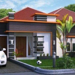 10 Bentuk Rumah Sederhana Ukuran 6x9 Terbaru