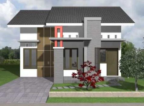 10 bentuk rumah sederhana ukuran 6x9 baru - desain rumah