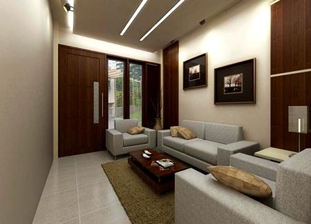 deko ruang tamu panjang - pagar rumah