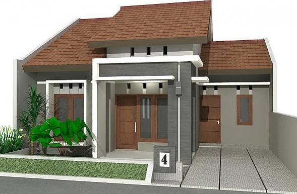 Model Rumah Sederhana Di Kampung Desain Rumah Minimalis
