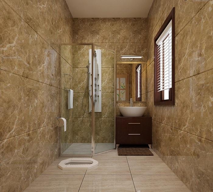 Kamar Mandi Sederhana Dengan Kloset Jongkok Bagus Desain Rumah