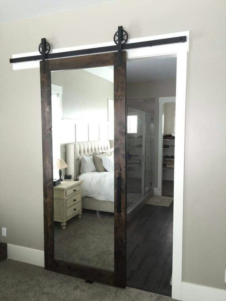Stylish bathrooms doors and more barn doors more 372 photos .