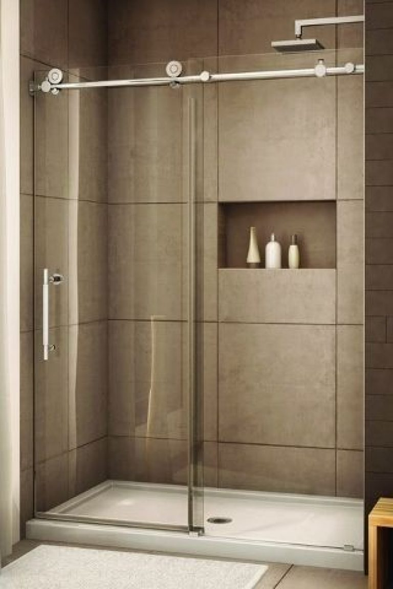 sliding shower doors over tub and are shower screens safe fo