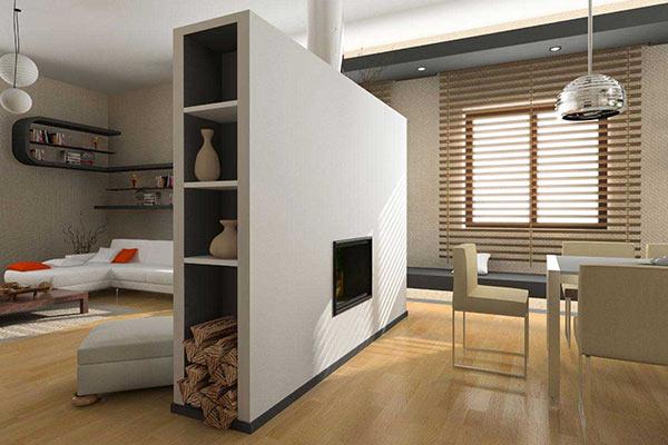 Sekat Ruang Tamu Minimalis Modern