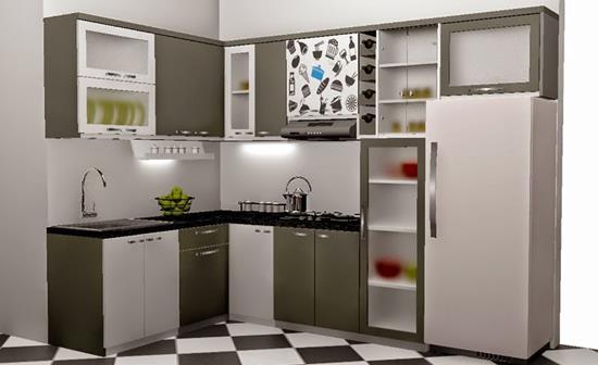 Daftar harga kitchen set minimalis murah terbaru desain for Daftar harga kitchen set aluminium