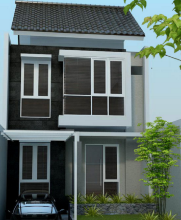 Biaya Bangun Rumah Minimalis 2 Lantai Type 21