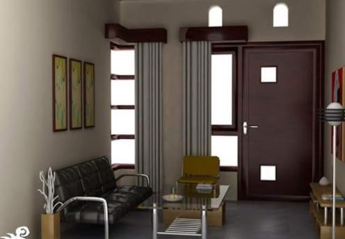 Desain Ruang Tamu Minimalis Ukuran 2x3