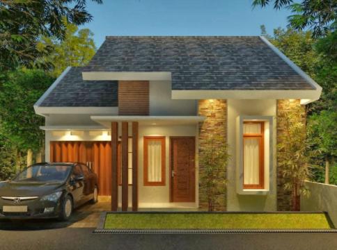 20 Contoh Rumah Minimalis Sederhana Modern Tampak Depan