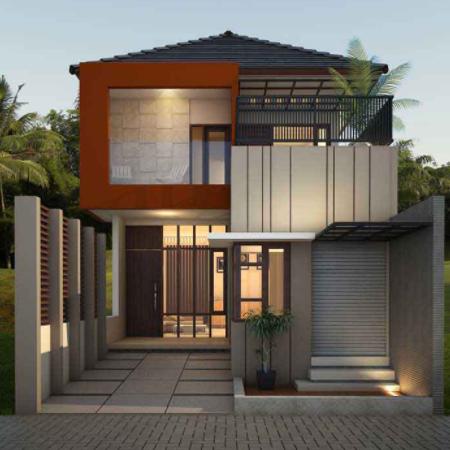 25 Gambar Rumah Minimalis 2 Lantai Modern Terbaru