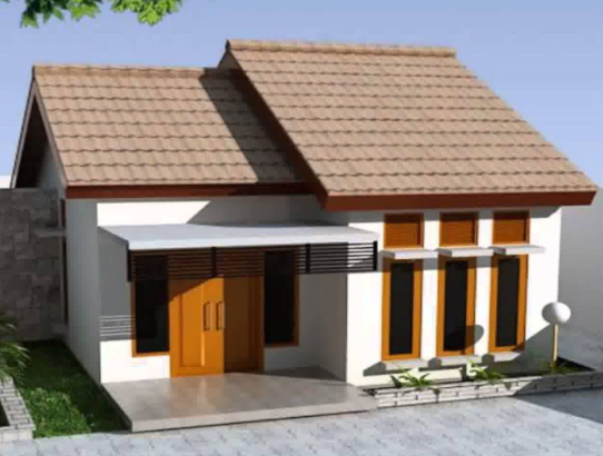 42 Gambar Tampak Depan Rumah Minimalis Lebar 10 Meter