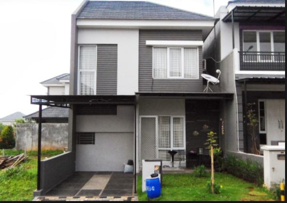 80 Contoh Rumah Minimalis 2 Lantai Modern Sederhana Tampak Depan 19