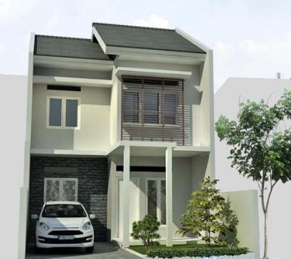 Gambar Rumah Minimalis Sederhana Lantai 2 Sekitar Rumah