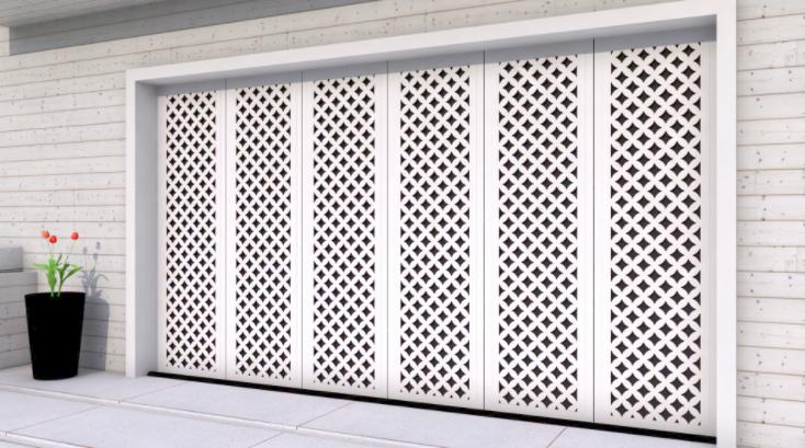 Model Pintu Besi Plat - Pagar Rumah
