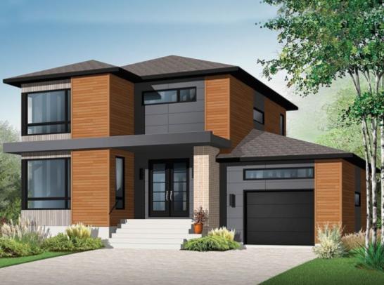 80 Desain Rumah Minimalis 2 Lantai 6x15 Terbaru