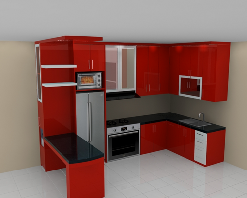 Get Gambar Kitchen Set Minimalis Hpl Images
