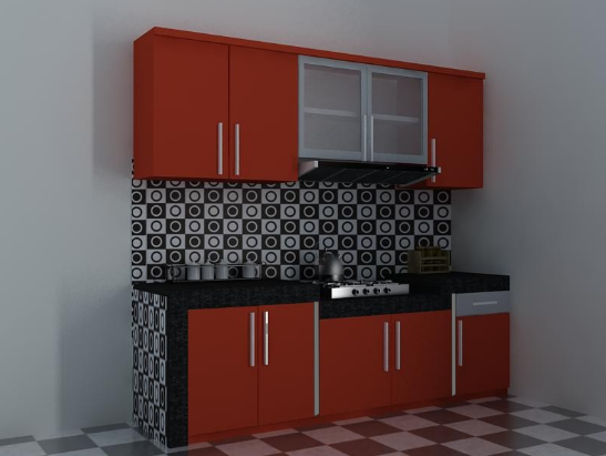 50 Model Kitchen Set Minimalis Dapur Kecil Modern Sederhana 2 Desain Rumah Minimalis