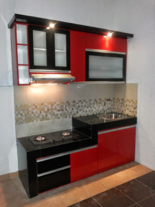 50 Model Kitchen Set Minimalis Dapur Kecil Modern Sederhana