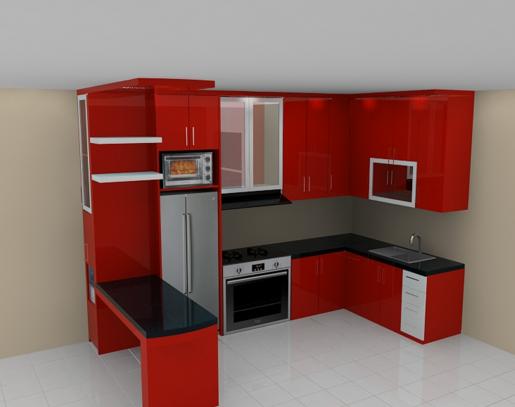 50 Model Kitchen Set Minimalis Dapur Kecil Modern Sederhana