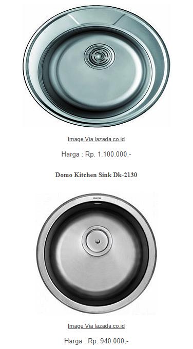 Harga Wastafel Cuci Piring Minimalis Paling Murah 1 Dan 2 Lubang