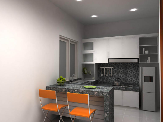 Dapur Minimalis Ukuran 2x2 Meter Sederhana Tapi Elegan