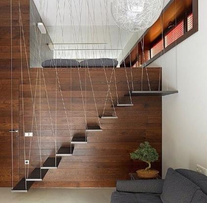 tangga minimalis ruang sempit - inspirasi desain rumah 2019