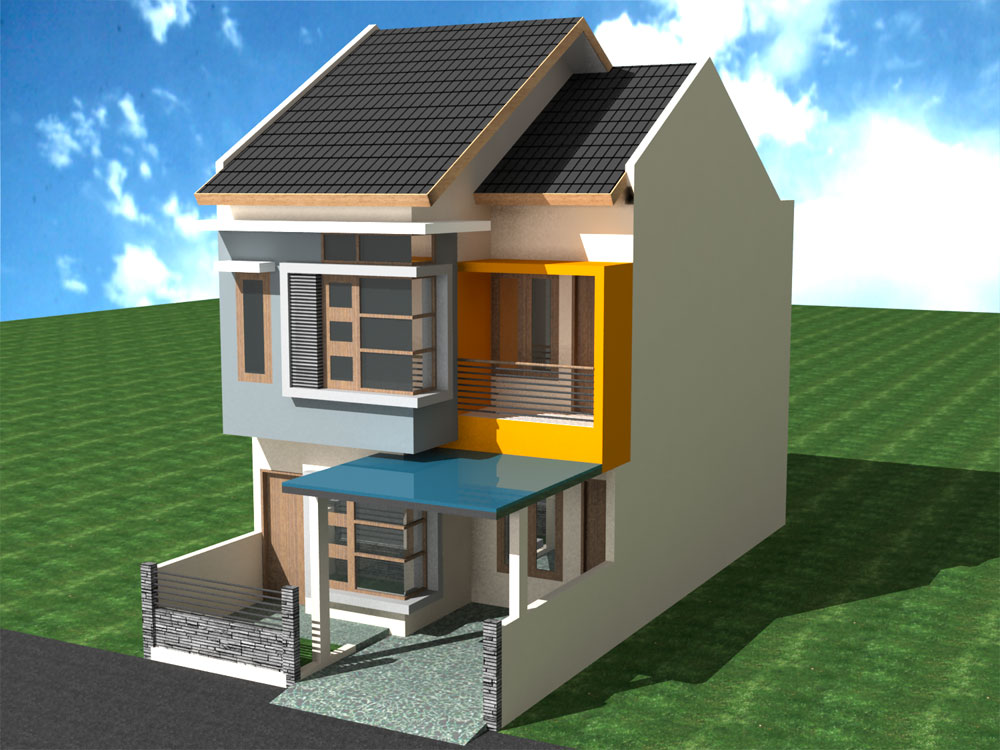 Contoh Gambar Rumah Idaman Minimalis Modern