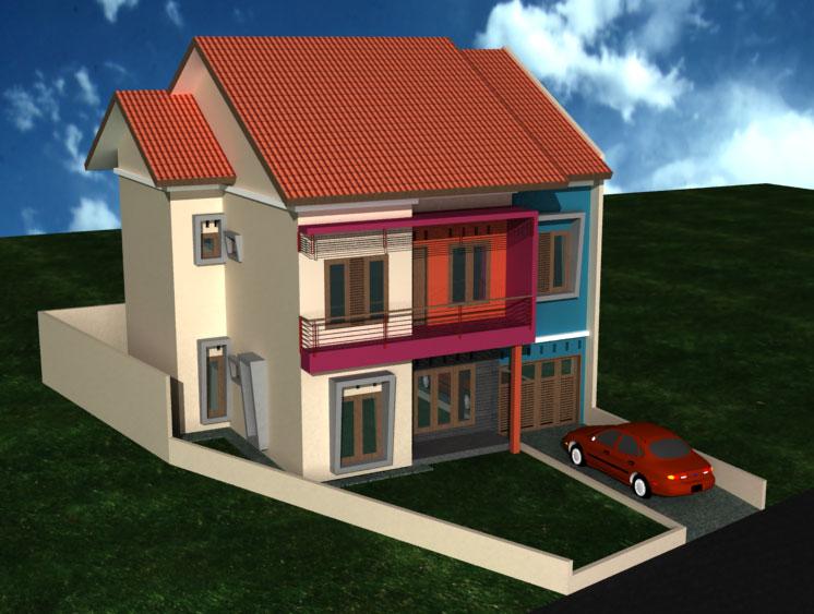 Contoh Gambar Rumah Minimalis 2 Lantai