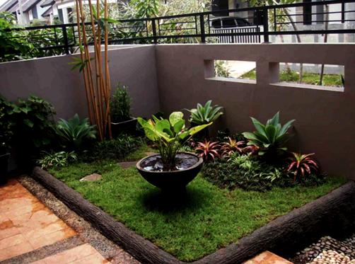 Contoh Desain Taman Minimalis Lahan Sempit