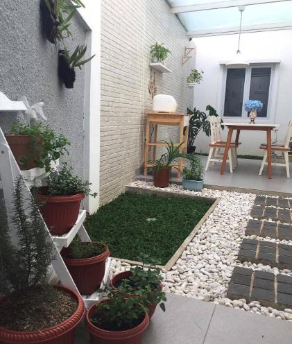 Contoh Taman Minimalis Dalam Rumah